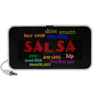 Salsa Dancing Lovers Dance Moves and Terms iPod Speaker