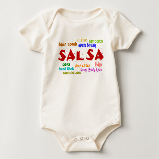 Salsa Dancing Lovers Dance Moves Infant Baby Bodysuit