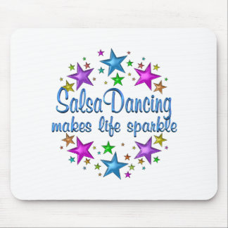 Salsa Dancing Makes Life Sparkle Mouse Pad