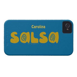 Salsa Dancing Swirls Custom Name Blackberry Case