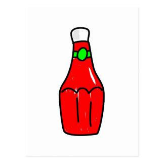 Salsa de tomate de tomate postal