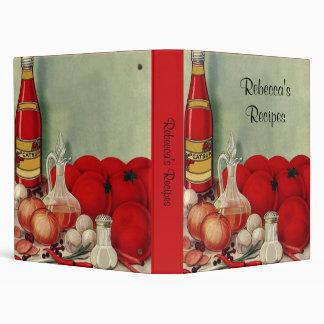 """Salsa de tomate italiana de las pimientas de las carpeta 1"""""""