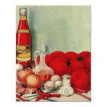 Salsa de tomate italiana de las pimientas de las comunicados personalizados