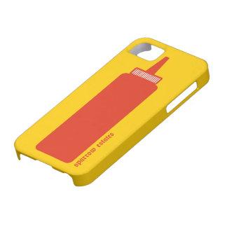 Salsa de tomate - serie americana del espectro iPhone 5 carcasas