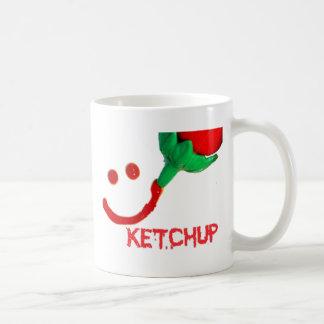 salsa de tomate tazas de café