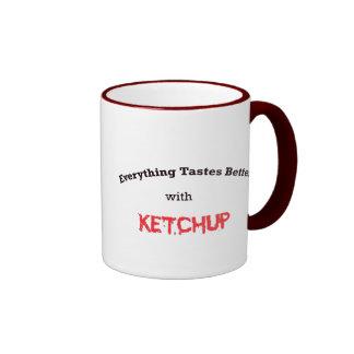 salsa de tomate taza