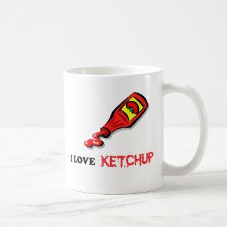 salsa de tomate taza de café