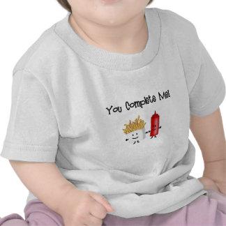 ¡Salsa de tomate y fritadas! Camisetas