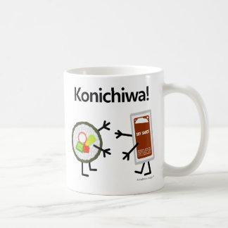 ¡Salsa del sushi y de soja - Konichiwa!