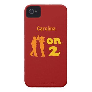 Salsa en la cubierta personalizada de baile de dos iPhone 4 cárcasas