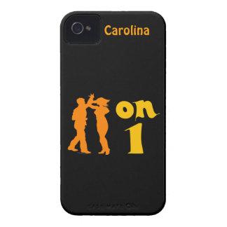 Salsa en un caso de encargo de baile del iphone de iPhone 4 Case-Mate cárcasas