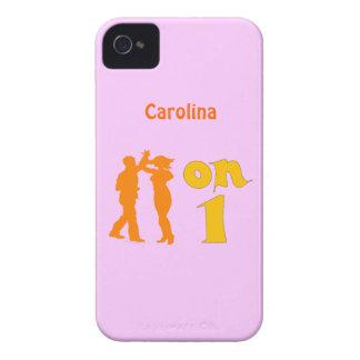 Salsa en una caja de baile de Blackberry de las si iPhone 4 Case-Mate Cobertura