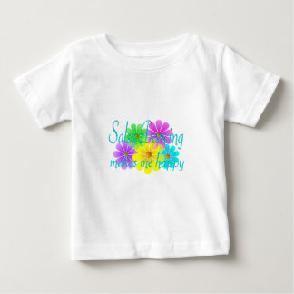 Salsa Happiness Flowers Infant T-shirt