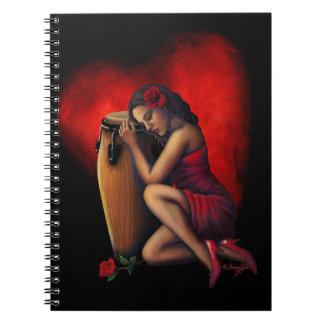 Salsa Heartbeat Notebook