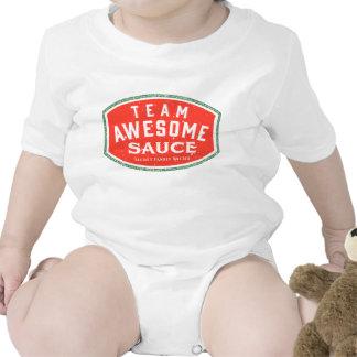 Salsa impresionante trajes de bebé
