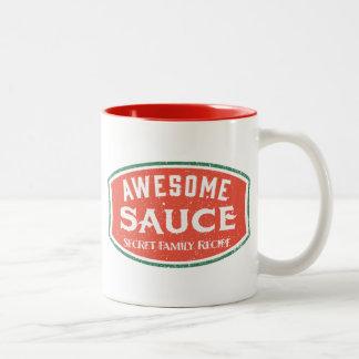 Salsa impresionante tazas de café