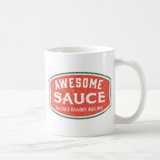 Salsa impresionante taza de café