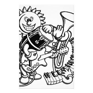 Salsa-Instruments-1 Stationery Paper