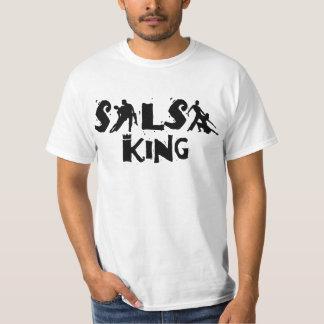 SALSA KING T-shirt - For salsa dance lovers