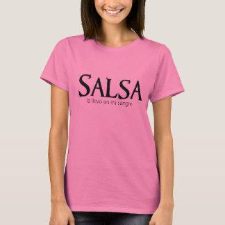 Salsa - La Llevo en Mi Sangre T-Shirt
