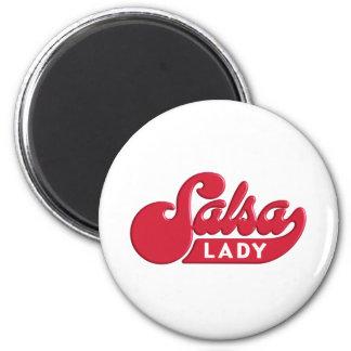 Salsa-Lady Magnet