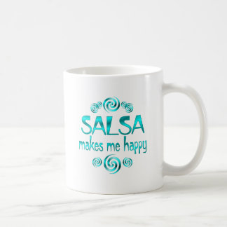 Salsa Makes Me Happy Coffee Mug