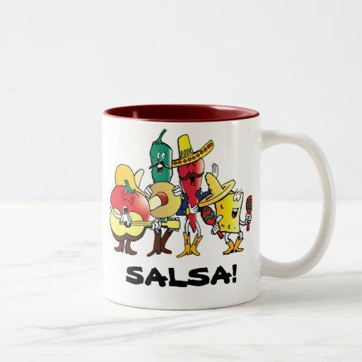 Salsa! Mariachi Mexican mug Cinco de Mayo