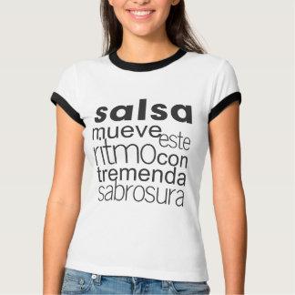 Salsa Mueve este ritmo con tremenda sabrosura T Shirt