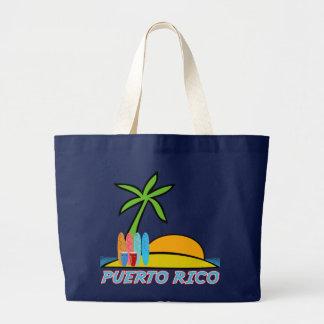 Salsa N' Surf Large Tote Bag