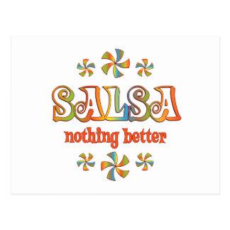 Salsa Nothing Better Postcard