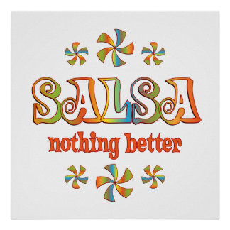 Salsa Nothing Better Poster