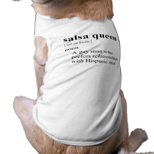 SALSA QUEEN DOGGIE T SHIRT