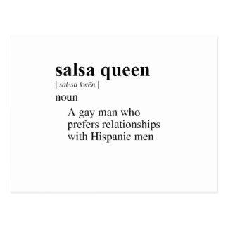 SALSA QUEEN POSTCARDS