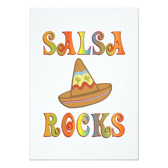 Salsa Rocks Card
