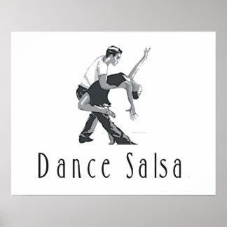 Salsa SUPERIOR de la danza Impresiones