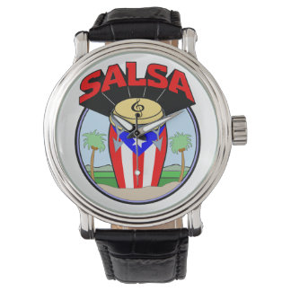 Salsa Time! Wrist Watch