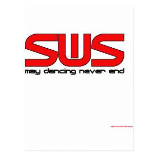 Salsa With Silvia Postcard