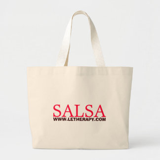 SALSA, WWW.LETHERAPY.COM LARGE TOTE BAG