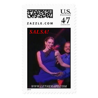 ¡SALSA! , WWW.LETHERAPY.COM SELLOS POSTALES