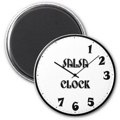 SalsaClock Imán Redondo 5 Cm