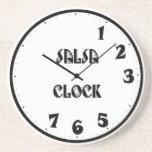 SalsaClock Posavasos Manualidades
