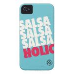Salsaholic iPhone 4 Case-Mate Cases