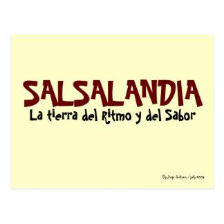 Salsalandia Postcard