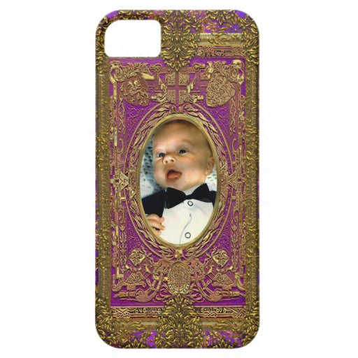 Salsbury Royale Insert Your Own Photo iPhone 5 Cases