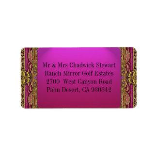 Salsbury Royale Address Label