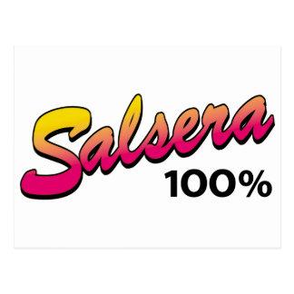 Salsera-100 Tarjeta Postal
