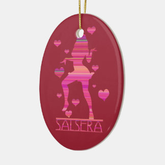 SALSERA - HOT DANCING GIRL CERAMIC ORNAMENT