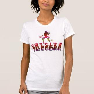 SALSERA T-Shirt with dancing girl flower design