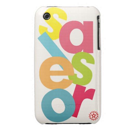 Salsero Case-Mate iPhone 3 Cárcasa