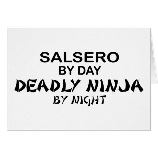 Salsero Deadly Ninja by Night Card